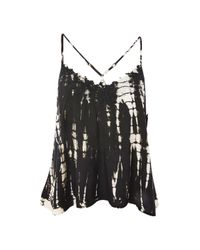 Band Of Gypsies - Black Tie Dye Camisole By Band Of Gypsies - Lyst
