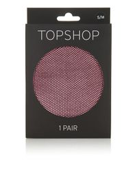 TOPSHOP - Multicolor Micro Fishnet Tights - Lyst