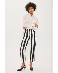 TOPSHOP Multicolor Humbug Stripe Mensy Trousers