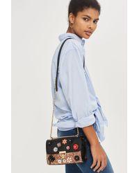 TOPSHOP | Multicolor Oriana Floral Corsage Cross Body Bag | Lyst