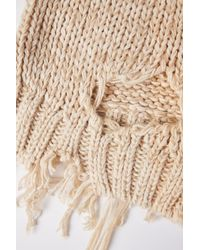 TOPSHOP | Natural Laddered Knittedjumper By Boutique | Lyst