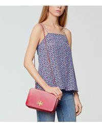 Tory Burch Multicolor Mercer Adjustable Shoulder Bag