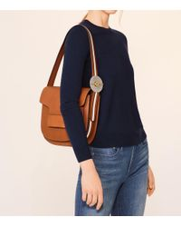 Tory Burch - Brown Modern Buckle Shoulder Bag - Lyst