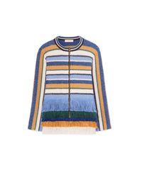 Tory Burch | Blue Kingston Jacket | Lyst