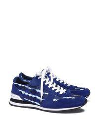 Tory Burch | Blue Brielle Sneaker | Lyst