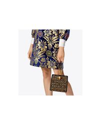 Tory Burch - Black Darcy Cabochon Clutch - Lyst