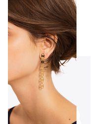 Tory Burch - Metallic Gemini Link Linear Earring - Lyst