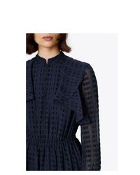 Tory Burch Blue Grace Dress