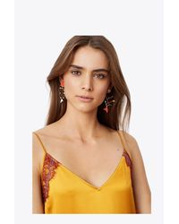 Tory Burch - Multicolor Small Mismatched Fish Earring - Lyst
