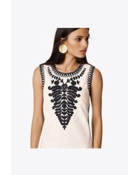 Tory Burch - White Camille Canvas Dress - Lyst