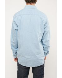 Barbour - Blue Speedrome Slim Fit Shirt Heavy Bleach for Men - Lyst
