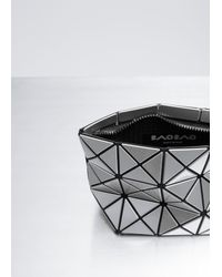 Bao Bao Issey Miyake - Metallic Silver Prism Shiny Small Pouch - Lyst
