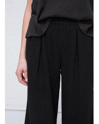 Raquel Allegra - Black Stripe Pajama Pant - Lyst