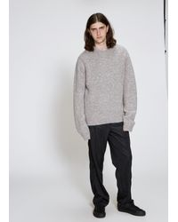 Our Legacy - Gray Base Roundneck for Men - Lyst