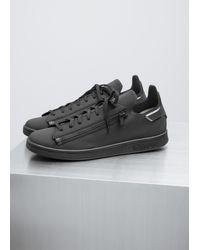 5697893983a6a Lyst - Y-3 Black Stan Zip Sneaker in Black for Men