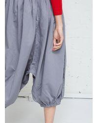 Comme des Garçons Gray Billowed Trouser