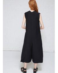 Oyuna - Black Oversized Sleeveless V-neck Jumpsuit - Lyst