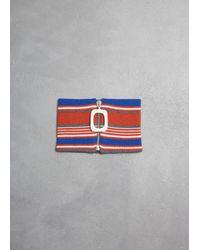 J.W. Anderson - Multicolor Stripe Neckband - Lyst