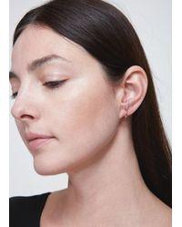 Charlotte Chesnais - White Single Bloom Earring - Lyst