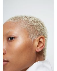 Shihara - Metallic Triangle Earring 10 - Lyst