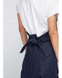 Y's Yohji Yamamoto - Blue Salopette Denim Coveralls - Lyst
