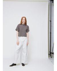 Ilana Kohn - Gray Shadow Rib Jersey Susie Shirt - Lyst
