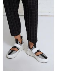 Issey Miyake - White Step Sneaker - Lyst