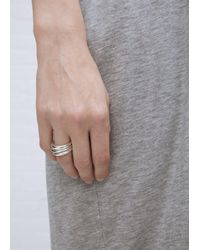 Sophie Buhai | Metallic Sterling Silver Stacking Rings | Lyst