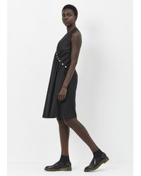 Noir Kei Ninomiya - Black Pearl Side Dress - Lyst