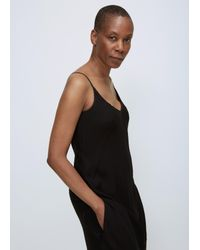 David Michael - Black Long Biaz Slip Dress - Lyst