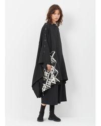Yohji Yamamoto - Black Sld W/ Knit - Lyst