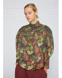 Anntian | Multicolor Print K Circle Shirt | Lyst