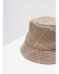 Cmmn Swdn - Multicolor Prince Of Wales Check Finn Bucket Hat - Lyst