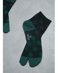 Y's Yohji Yamamoto Green Tabi Socks