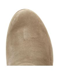 Fitflop - Natural Womens Desert Taupe Suede Superbuckle Chelsea Boots - Lyst