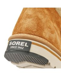 Sorel - Brown Womens British Tan / Elk Newbie Short Boots - Lyst