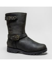 2cd99e33bb21 UGG UGG W Grandle Java Boots in Black - Lyst