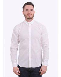 Folk - White Smart Shirt for Men - Lyst