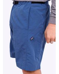 Patagonia   Gi Iii Shorts Glass Blue Colour: Blue, Uk Size: S for Men   Lyst