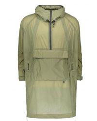 Snow Peak - Green Rain & Wind Resistant Poncho - Lyst