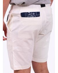 Manastash - White Flex Climb Shorts for Men - Lyst