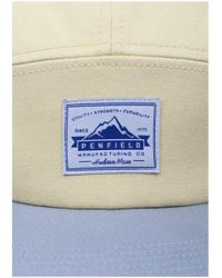 Penfield - Yellow Casper Cb 5 Panel Camp Cap for Men - Lyst