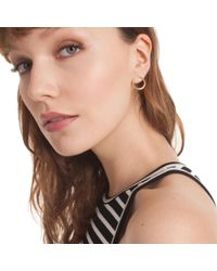 Trina Turk - Metallic Hollywood Hills Hoop Post Earrings - Lyst
