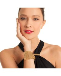 Trina Turk - Multicolor Midnight Studio Chainmail Bracelet - Lyst