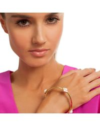 Trina Turk - Metallic Aegean Eye Bangle - Lyst