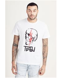 True Religion | White Sinners And Saints Mens Tee for Men | Lyst