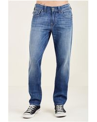True Religion | Blue Boundless 360 Stretch Geno Slim Mens Jean for Men | Lyst