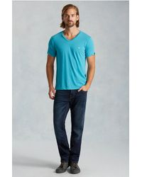 True Religion | Blue Geno Slim Mens Jean for Men | Lyst