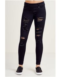True Religion | Black The Runway Womens Legging | Lyst
