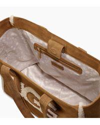 Ugg - Brown Women's Alina Sheepskin Tote Bag - Lyst